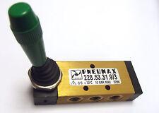 Pneumax 228.53.31.9/3 Valve 5/3, 1/8 BSP with 3 position Detent hand lever C/C