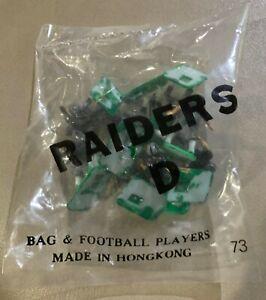 Oakland Raiders HOME Vintage Tudor Electric Football Team Mint Sealed in Bag