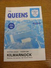 16/09/1981 LA REGINA DEL SUD V KILMARNOCK. grazie per la visualizzazione di questo oggetto, acquistare