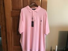 Bnwtags Mens Ralph Lauren Lt Pink Classic Polo Shirt!$98 Size 3XL Big""""""