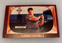 1955 Bowman # 202 Mickey Mantle New York Yankees Reprint Baseball Card 1985