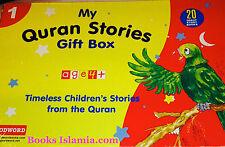 My Quran Stories Gift Box-1 (Twenty Quran Stories for Little Hearts)