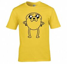 "ADVENTURE TIME ""JAKE THE DOG, PUPPY EYE'S"" T SHIRT NEW"