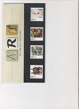 1993 ROYAL MAIL Presentation Pack arte nel ventesimo centutury MINT FRANCOBOLLI decimale