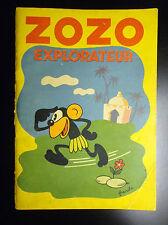ZOZO explorateur AVEC RARE sytème Pop Hop Franchi 1936
