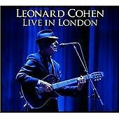 Leonard Cohen 'Live in London' NEW & SEALED 2xCD - FREE 1ST CLASS POST