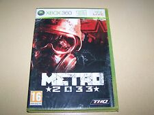 Metro 2033 XBOX 360 **New & Sealed**