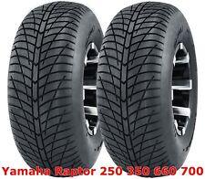 (2) Yamaha Raptor 250 350 660 700  Rear 20x10-9 20x10x9 Hi-Speed ATV Tires