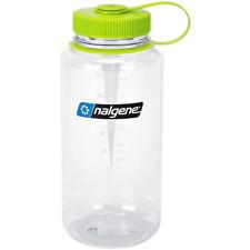 Nalgene Tritan Wide Mouth Water Bottle - 32 oz. - Clear/Green
