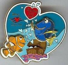 Disney Pin: Disney Cruise Line Valentine's Day 2005 (Dory & Marlin)  (LE 1000)