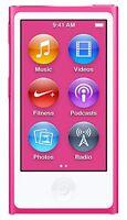 Apple iPod Nano 7th Generation 16GB 16 GB i Pod MP3 Video Player Gen 7 - Pink