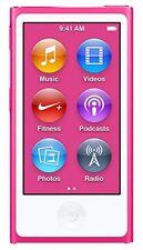 REFURBISHED Apple iPod Nano 7th Generation 16GB Pink 16 GB i Pod MP3 Video