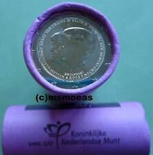 Niederlande 2 Euro  2013 Thronwechsel Beatrix Rolle Gedenkmünzen mit 25 x 2 Euro