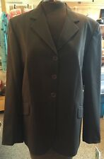 NWT Tailored Sportsman Bedminster Hunter Jumper Show Coat Brown Size 12R