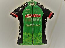 VERGE Womens RACE Cycling Jersey Kenda Cat Eye Plant GREEN Medium M Biking