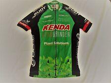 VERGE Womens RACE Cycling Jersey Kenda Cat Eye Plant GREEN S SMALL Biking