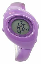New Nike Kids Triax Junior WR0017 Special Purple and Violet Digital 38mm Watch