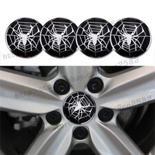 4x 56.5mm Spider Spiderman Car Alloy Wheel Center Hub Caps Replace Badge Emblem