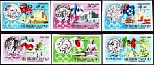 Sharjah - Khor Fakkan 1968 ** Mi.164/69 B Olympische Spiele Olympic Games