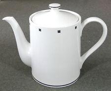 Sasaki Fine China David Ehrenreich Metropolis Black Coffee Tea Pot Teapot EUC