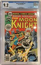 Marvel Spotlight #29 (1976) CGC 9.2 KEY 2nd Solo Moon Knight Conquer-Lord App.