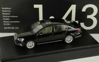 VW PASSAT B7 HIGHLINE SALOON 2010 DEEP BLACK 1:43 SCHUCO (OEM DEALER MODEL)