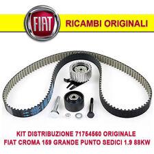 KIT DISTRIBUZIONE 71754560 ORIGINALE FIAT CROMA 159 GRANDE PUNTO SEDICI 1.9 88KW