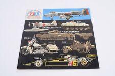 Tamiya Katalog 1978 Panzer Flugzeuge Motorräder Schiffe sehr guter Zustand