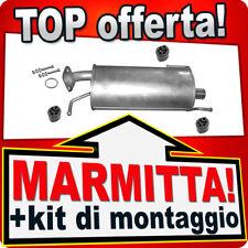 Silenziatore Posteriore OPEL AGILA B SUZUKI 1.0 1.2 anche LPG Marmitta AHC