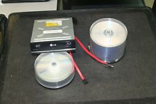 LG Blu-ray BD Disc Burner - SATA - WH10LS30 + Media - See Details Below!!!!!