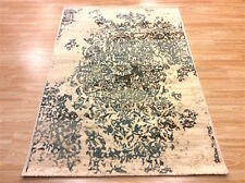 Cream Vintage Distressed Persian Design High Quality Wool Rug 120x170cm 50%OFF