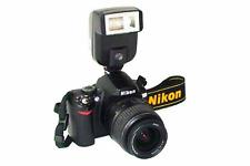 Zapata universal luz flash electrónico de Cámara para Nikon D3400, D3300, D3200, D31