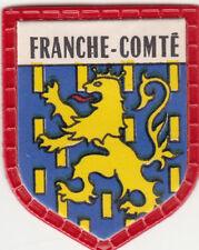 FRANCHE-COMTÉ FRANCE BLASON FLAG ECUSSON PUBLICITAIRE ANNEES 60s