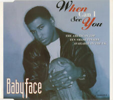 BABYFACE WHEN CAN I SEE YOU 6 TRACK CD SINGLE