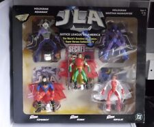DC JUSTICE LEAGUE OF AMERICA Figure Set (1999) Inc Il Segugio di Marte AQUAMAN