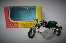 MATCHBOX LESNEY MODELS OF YESTERYEAR BOXED SUNBEAM MOTORCYCLE & SIDECAR Y8 1962