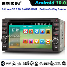 8-Core Android 10.0 2Din Universal Autorradio for Nissan BT DAB+ TDT DSP CarPlay