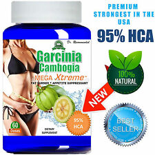 Pure Garcinia Cambogia Extract Mega 95% HCA Weight Loss Diet - Belly Burner Slim