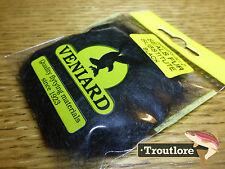 Black Veniard Seals Fur Substitute Dubbing - Fly Tying Dub Material