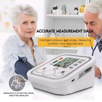 Digital Automatic Blood Pressure Monitor Upper Arm Intellisense 99 Memory Home