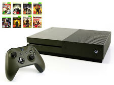 Microsoft XBOX ONE Console S 1tb MILITARY GREEN + controller + gioco verde usk18