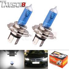 2 x H7 12V 100W Xenon White 6000k Halogen Blue Car Head Light Lamp Globes/Bulbs