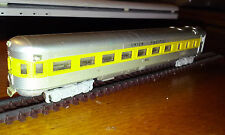 Minitrix N Scale Union Pacific steamlined observation car.