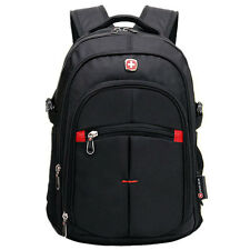 "SwissGear Men's 15"" Nylon Waterproof Laptop Backpack School Travel Bag Rucksack"