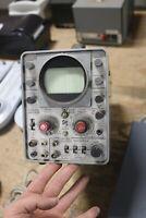 TEKTRONIX type 321A oscilloscope MAINFRAME CHASSIS