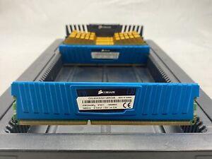 LOT 8 CORSAIR ADATA 4GB 1RX8 DDR3 PC3-14900U 1866MHZ HS NON ECC DIMM MEMORY RAM