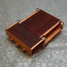 Dell WD739 0WD739 PowerEdge 1855 Servidor De Cobre Disipador térmico de refrigeración CPU/Procesador