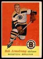 1957-58 TOPPS BOB ARMSTRONG BOSTON BRUINS #3 JM
