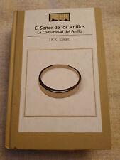 EL SEÑOR DE LOS ANILLOS LLA COMUNIDAD DEL ANILLO LIBRO TAPA DURA 2005 574 PGS