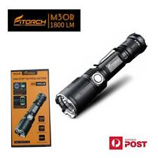 FITORCH M30R 1800 Lumens USB rechargeable tactical LED Torch/Power bank